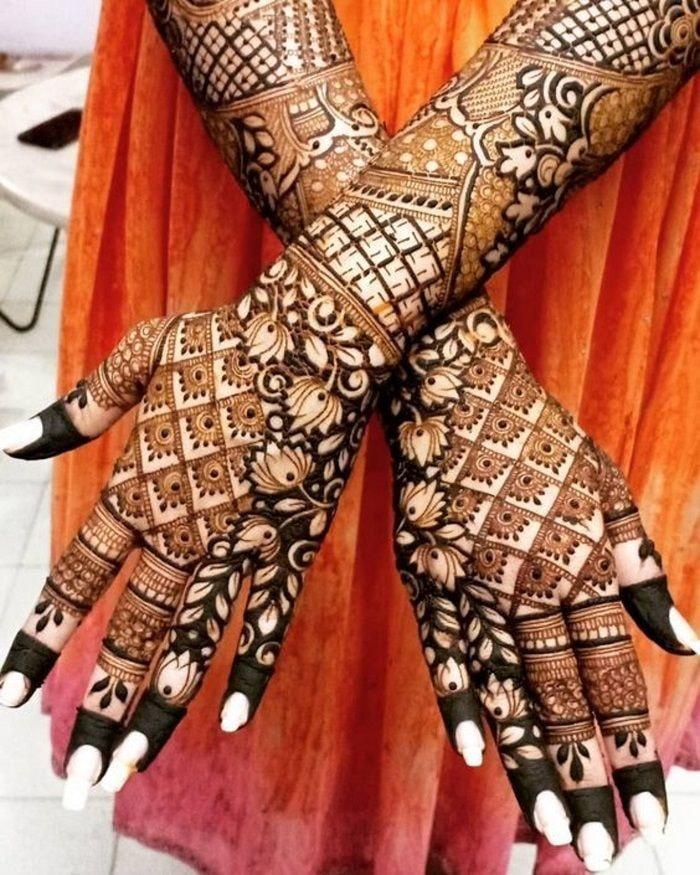 bridal mehndi designs for full hands