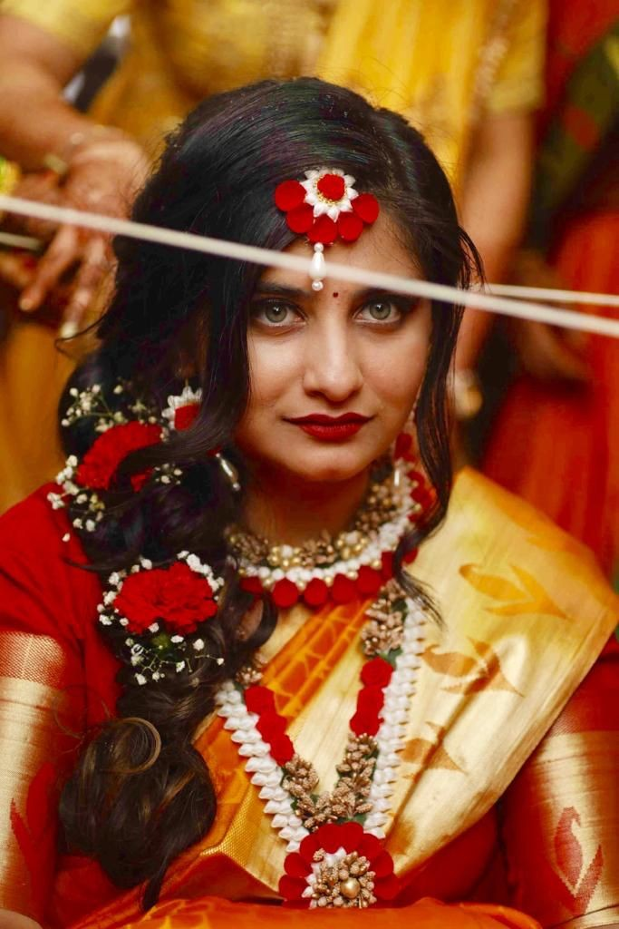 Flower Jewellery For Bride