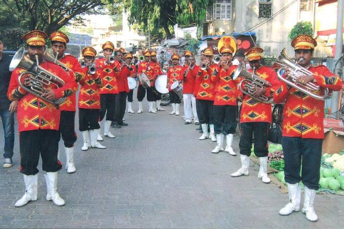 brass band for wedding