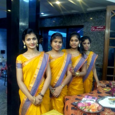 Catering Service Boys & Welcoming Girls