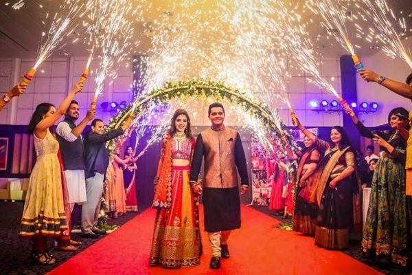 Grand Entry With Cool Fire Display